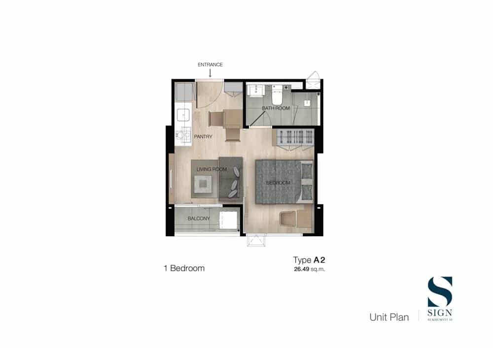 Review SIGN Sukhumvit 50 ใส่ใจทุกรายละเอียดการออกแบบ พร้อมระบบ Home Automation System | Prop2Morrow บ้าน คอนโด ข่าวอสังหาฯ
