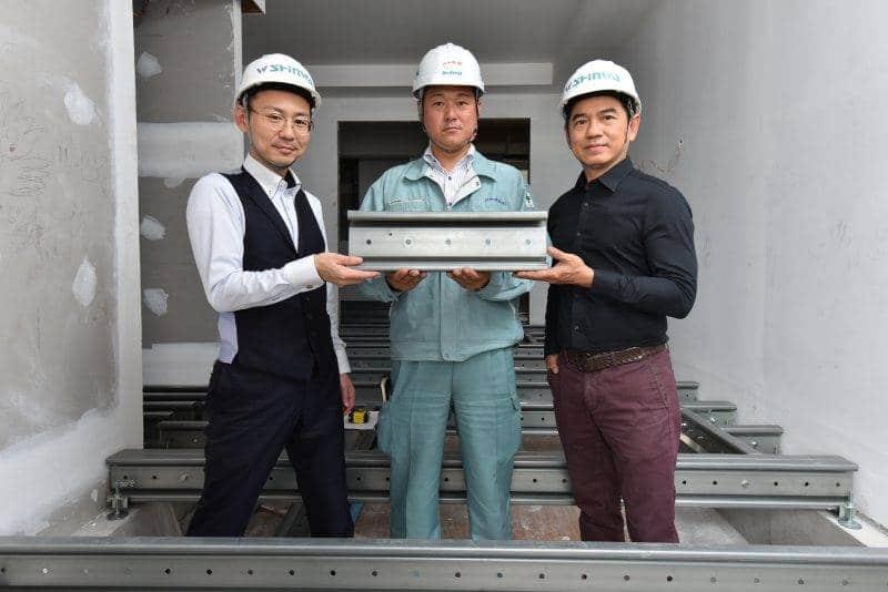 วิศวกรใหญ่ชินวะ กรุ๊ป บินตรงจากญี่ปุ่น ติดตั้ง Sigma Beam RUNESU THONGLOR 5 | Prop2Morrow บ้าน คอนโด ข่าวอสังหาฯ